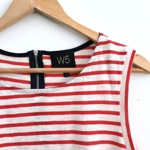W5 Concepts Anthropologie striped tank - Large